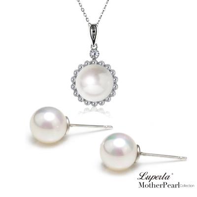 大東山珠寶 第一夫人系列 南洋貝寶珠墜飾 高雅氣質