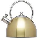 KitchenCraft 不鏽鋼笛音壺(黃銅1.8L)