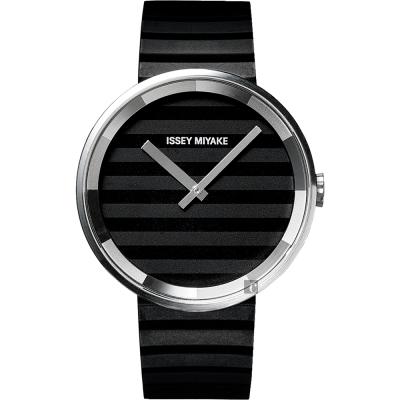 ISSEY MIYAKE 三宅一生 PLEASE 時裝系列手錶(SILAAA01Y/VJ20-0110C)-40mm