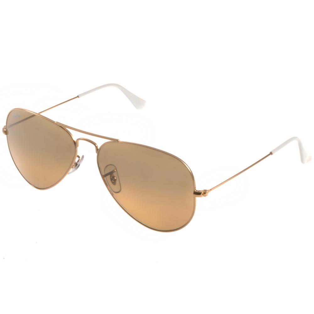 RAY BAN太陽眼鏡 經典品牌/水銀棕#RB3025 0013K