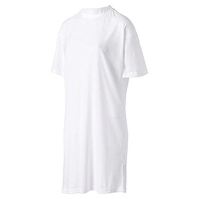PUMA-女性流行系列蝴蝶結短袖T恤-白色-歐規