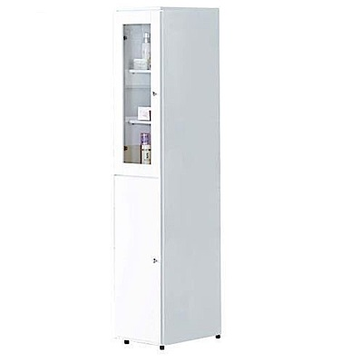 AT HOME-凱渥1尺白色立櫃30x40x158cm