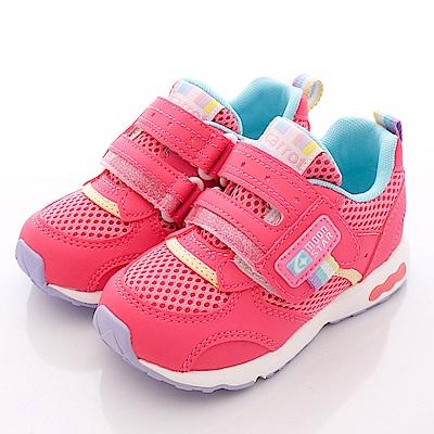 日本Carrot機能童鞋-3E寬楦速乾款-TW1464粉(中小童段)