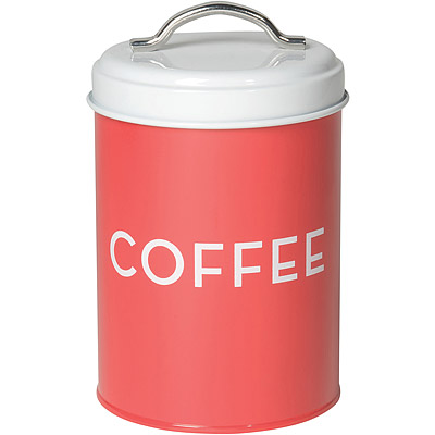 NOW 咖啡豆收納罐(紅)