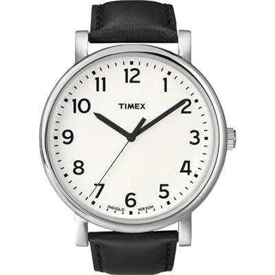 TIMEX 經典復刻冷光系列腕錶-白/42mm