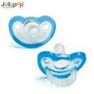 【麗嬰房】Jollypop 香草安撫奶嘴 4M+ 藍色