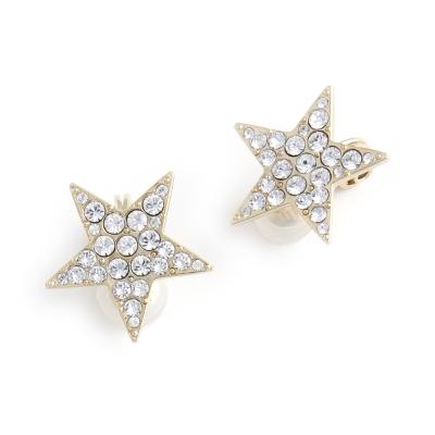 JewCas Air Earrings系列星星水晶空氣耳夾_JC2511