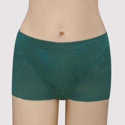 曼黛瑪璉-14AW-V極線高脅-中腰平口修飾褲-雅典綠