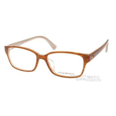 EMPORIO ARMANI眼鏡 經典時尚/棕#EA3012D 5054