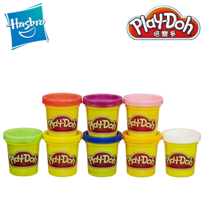 【play-doh培樂多】八色組補充罐