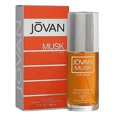 JOVAN Musk Cologne For Men Spray 麝香男香 88ml