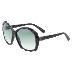 SWAROVSKI太陽眼鏡-水晶切割感-黑色 SW2
