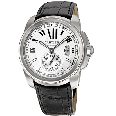 CARTIER卡地亞 W7100037 CALIBRE DE CARTIER 白-42mm