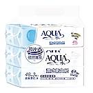 AQUA水 濕式衛生紙(48抽*3包x4串)