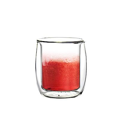FUSHIMA富島 英倫系列雙層耐熱玻璃杯110ML
