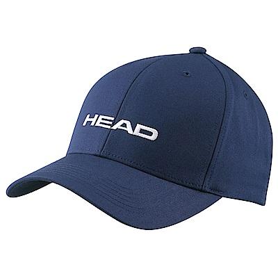 HEAD奧地利 素面可調式 運動帽/棒球帽/遮陽帽-海軍藍(2入) 287292