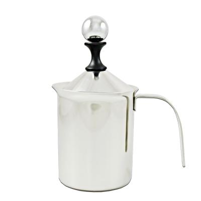 三零四嚴選 #304不鏽鋼咖啡雙層奶泡杯 1入 (400ML/個)
