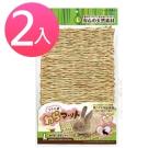 日本Marukan 兔腳保護 可食可踏 兩用牧草踏墊 L號 【ML-109】(兩入組)