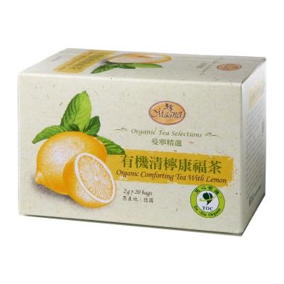 曼寧 有機清檸康福茶(2gx20入)
