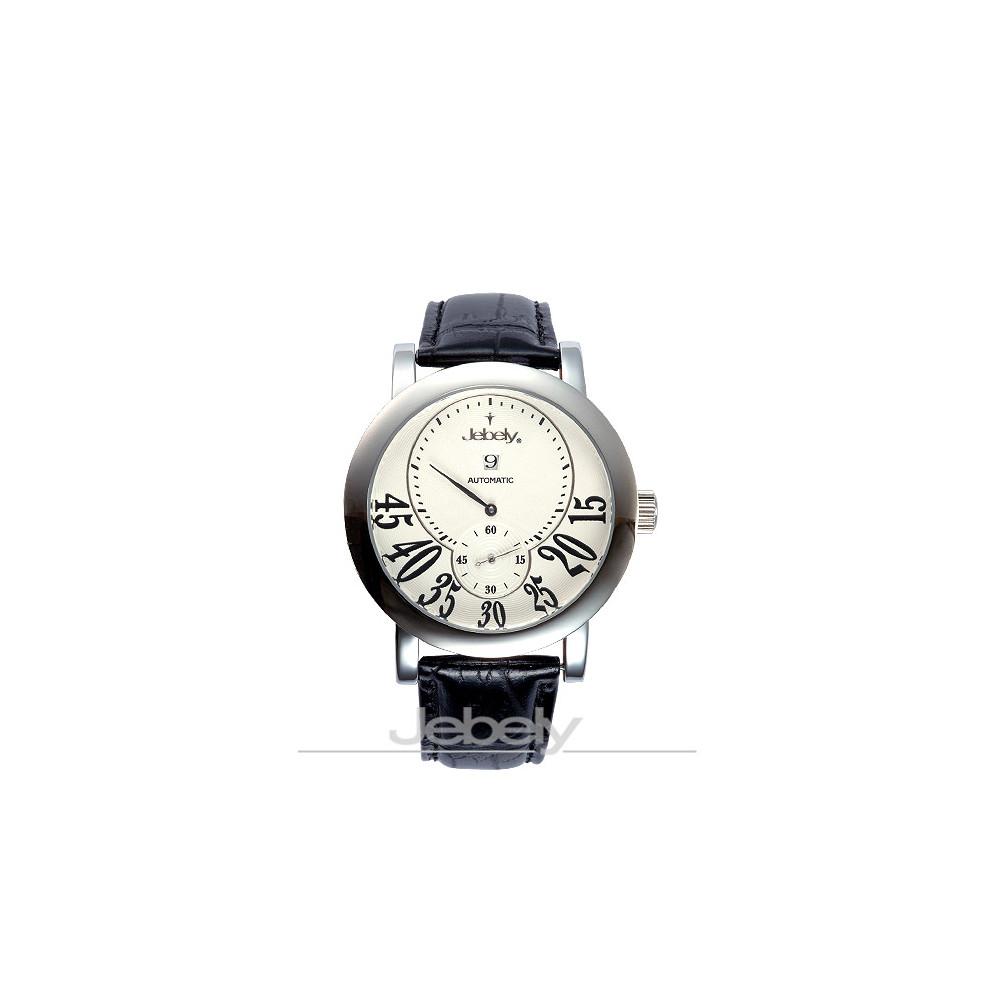 【Jebely】聖莫里茲塔系列三針分離機械錶(白)