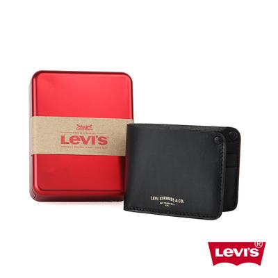 皮夾 男款 真皮 精美鐵盒 - Levis