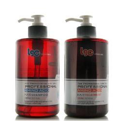 Keyra奇拉 胺基酸洗髮精500ML+胺基酸護髮素500ML