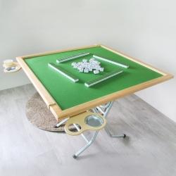 Amos-愛帕折疊收納麻將桌/折疊桌-寬91x深91x高75cm
