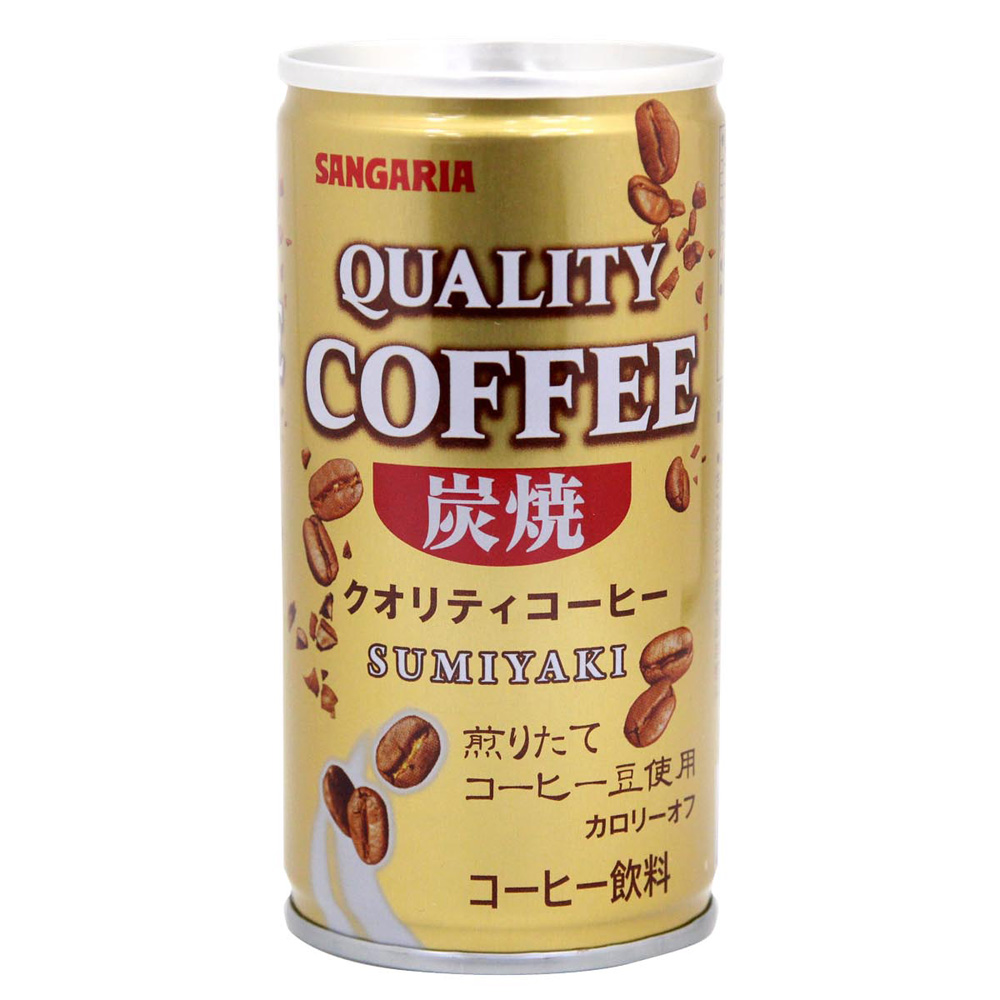 SANGARIA BEVERAGE QUALITY炭燒咖啡(185g)