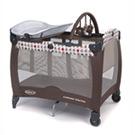 【麗嬰房】GRACO舒適嬰幼兒電動安撫遊戲床 Contour Electra(蘋果點)
