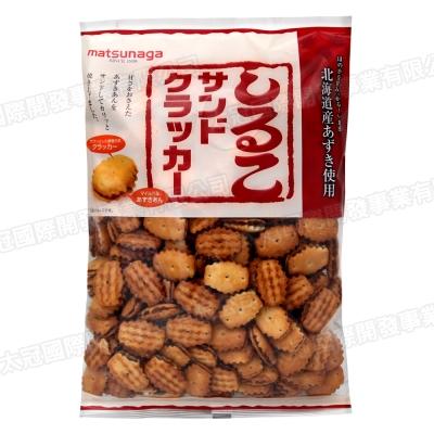 松永製果 紅豆夾心餅 (270g)