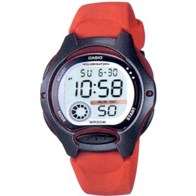 ASIO 超時空玩家電子錶(LW-200)-黑/藍/紅/粉紅/白