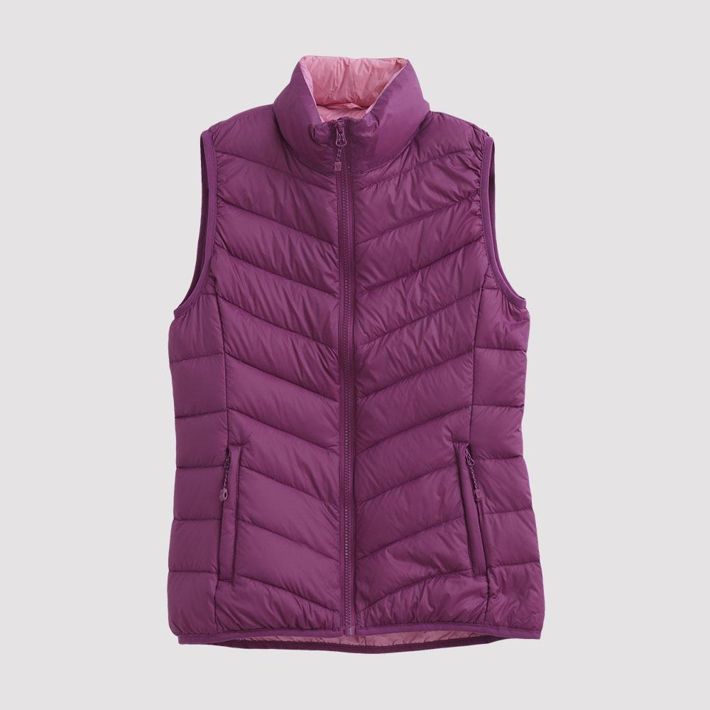 Hang Ten - 女裝 - ThermoContro 超輕羽絨背心 - 紫