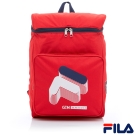 FILA x GTM 聯名款大LOGO後背包-紅BPR-5401-RD