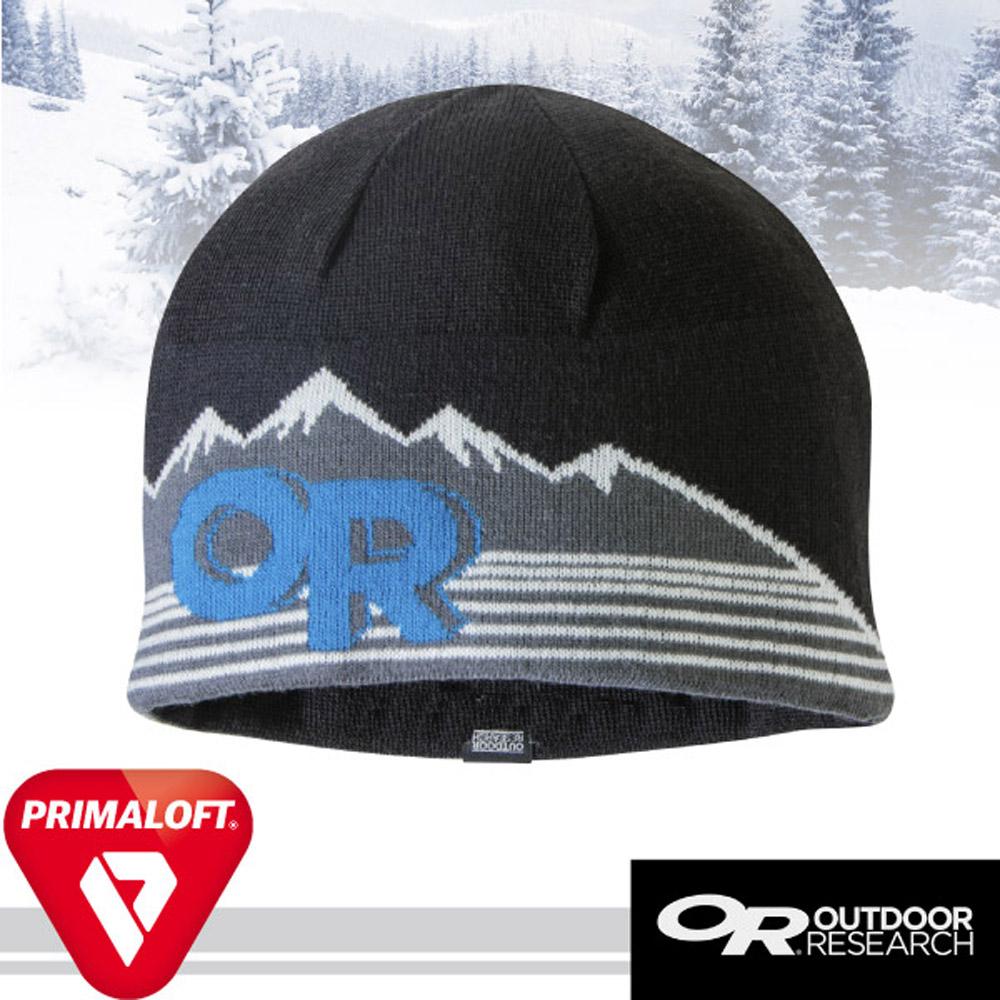 【Outdoor Research】Advocate 輕量透氣抗水毛織雙層保暖帽子/黑