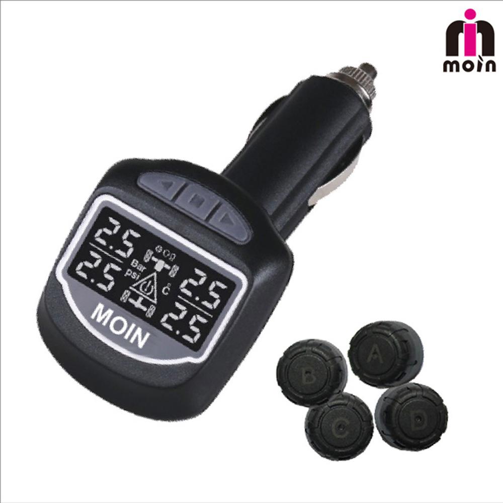 【MOIN】TP-01感溫式 無線胎壓胎溫偵測器