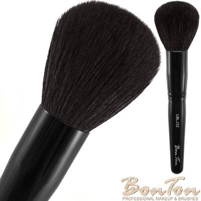 BonTon 墨黑系列 圓形蜜粉/粉餅刷 LBLJ02 特級尖鋒羊毛