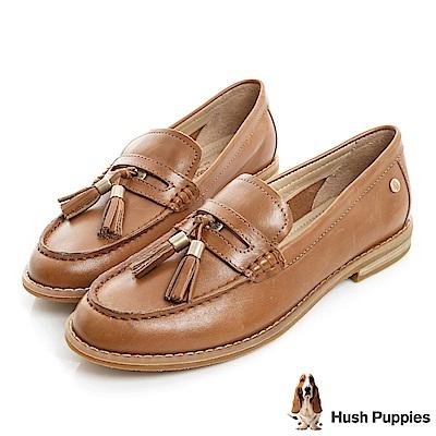 Hush Puppies CHARDON 便士樂福鞋-棕色