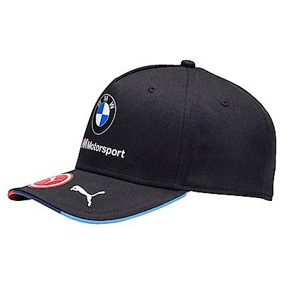 PUMA-男女BMW系列棒球帽-煙煤黑