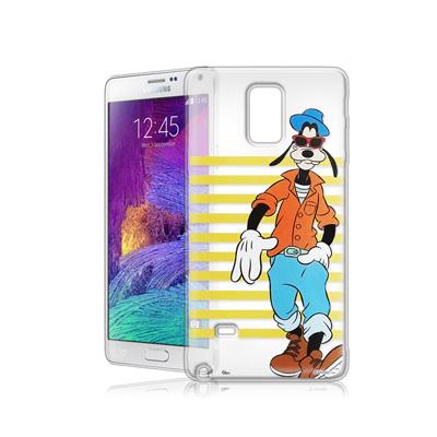 迪士尼Samsung Galaxy Note 4街頭透明軟式手機殼(帥氣高飛)