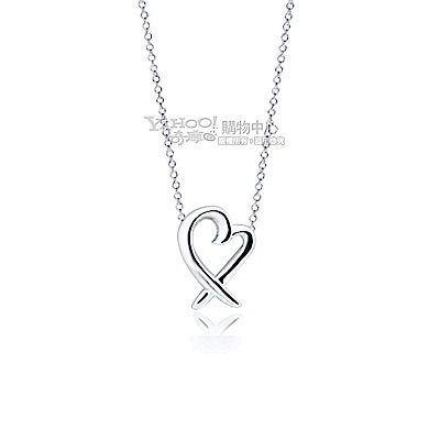Tiffany&Co.  Loving Heart 925純銀項鍊(迷你)