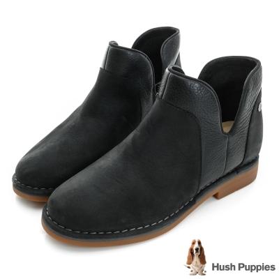 Hush Puppies ICON58防潑水沙漠靴-黑麂皮