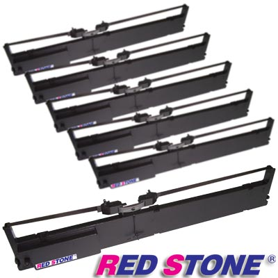 RED STONE for IBM 9068 A01黑色色帶組(1組6入)