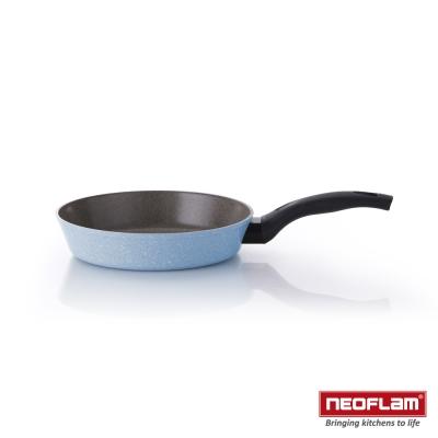 韓國NEOFLAM Reverse 彩色岩礦系列 24cm陶瓷不沾平底鍋