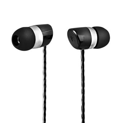 TCSTAR 有線入耳式耳機麥克風-黑 TCE6090BK