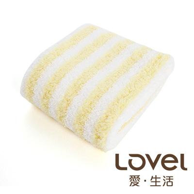 LOVEL 開纖紗牛奶條紋毛巾(共四色)