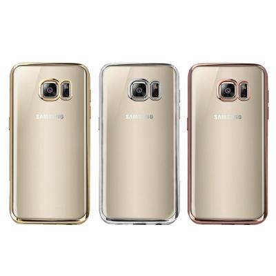 Oucase SAMSUNG Galaxy S7 G930F錦衣電鍍TPU套