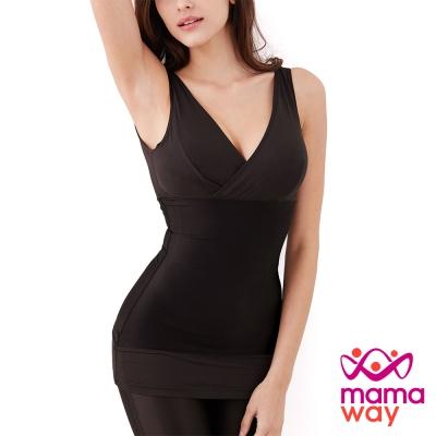 【媽媽餵Mamaway】內衣式哺乳修飾衣(共二色)