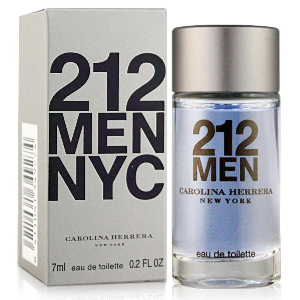 Carolina Herrera 212 都會男性淡香水(7ml)