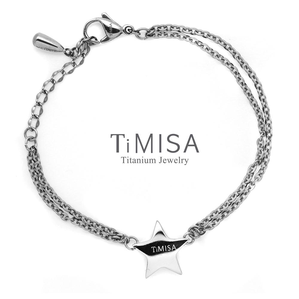 TiMISA 明星風采  純鈦手鍊