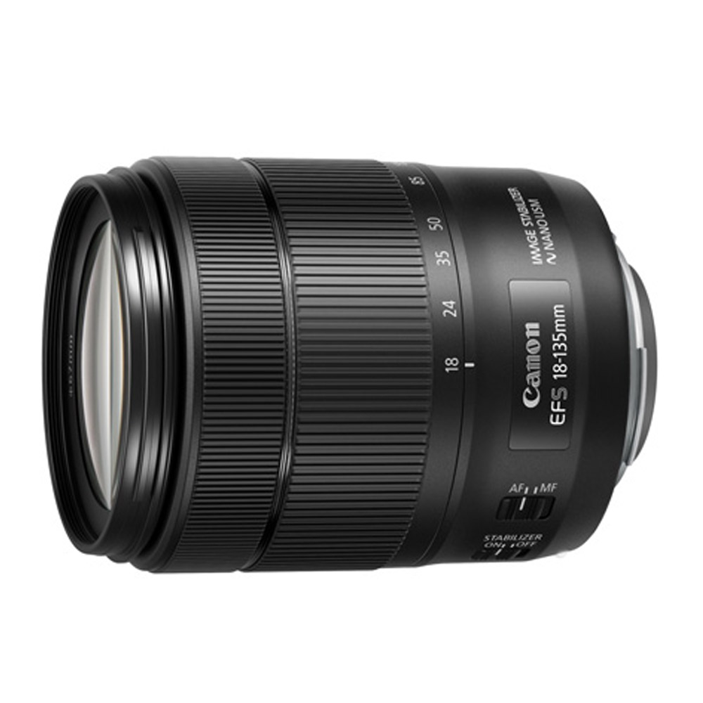 Canon EF-S 18-135mm f3.5-5.6 IS USM (平輸) 白盒